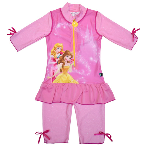Disney Princess Pink UV Sunsuit UPF 50+