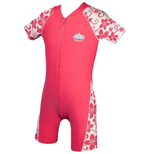 Girls Camelia Rose Sun Protection UV Sunsuit UPF 50+