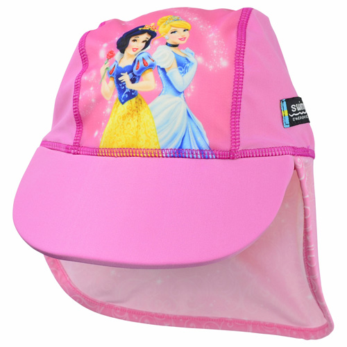 Disney Princess Girls Pink UV Legionnaire Cap UPF 50+
