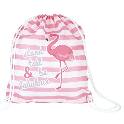 Stand Tall & Be Fabulous Flamingo PE / Trainer Bag